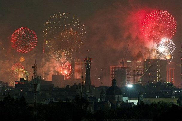 Мексика отметила 200-летие независимости