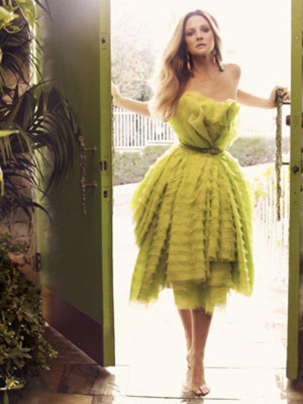 Дрю Беррімор знялась для Harper's Bazaar