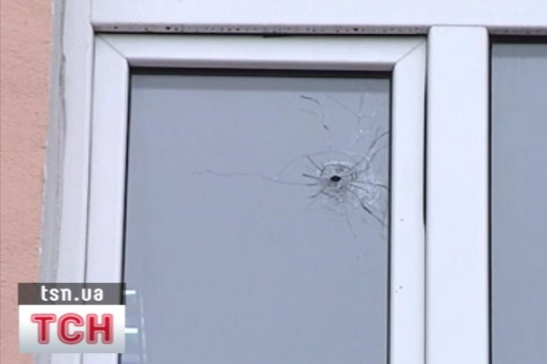 В Одесі обстріляли штаб Партії регіонів