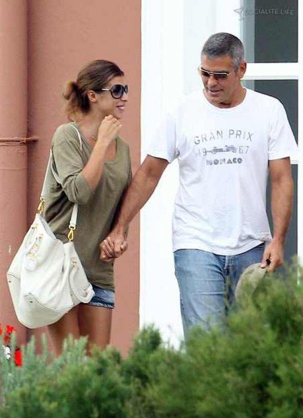 Джордж Клуни познакомился с родителями любимой