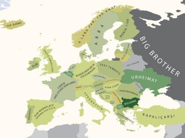 """Створено карти національних стереотипів: Україна названа """"газовим злодієм"""""""