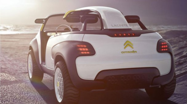 Новий автомобіль-кросівок від Citroen