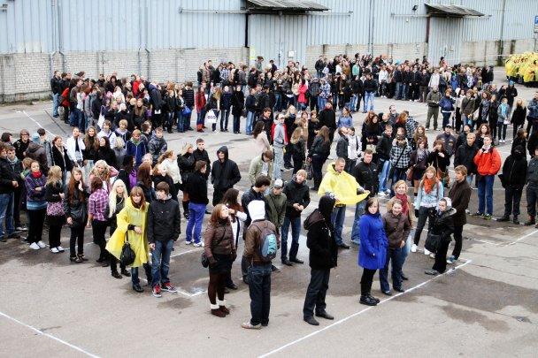 """В Латвии тысячи студентов попытались """"достучаться"""" до инопланетян"""