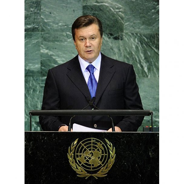 Янукович выступил на саммите тысячелетия в Нью-Йорке