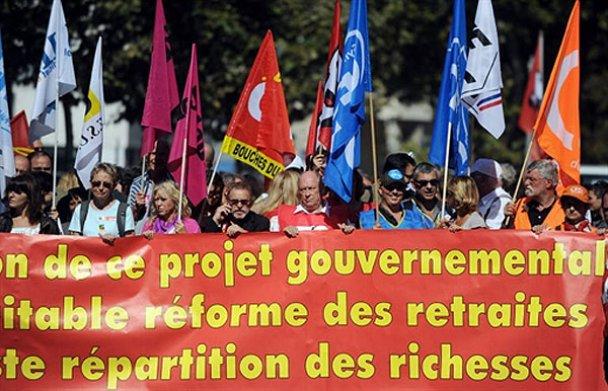 Франція страйкує проти пенсійної реформи