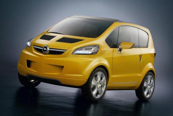 Opel выпускает супер-мини автомобиль