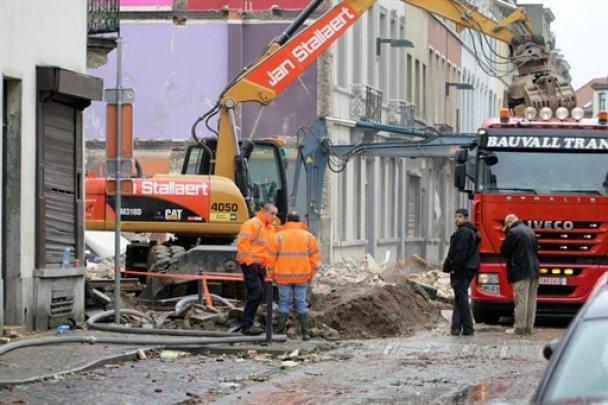 У Брюсселі вибухнули три житлових будинки
