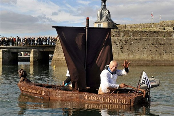 У Франції створили човен з шоколаду