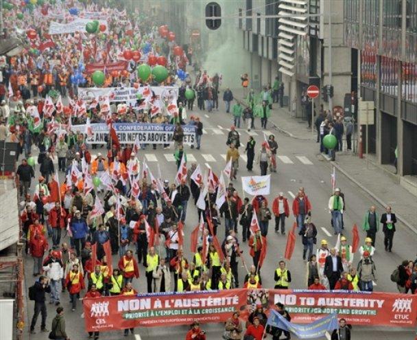 Європу охопили страйки: Захід на порозі соціального вибуху
