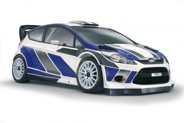 Ford показав новий автомобіль для чемпіонату світу з ралі