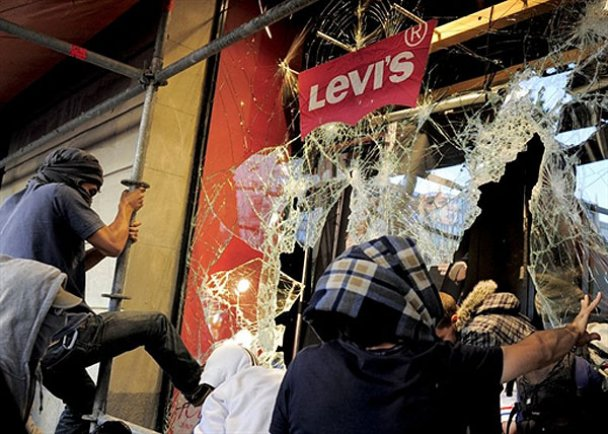 Мітинг у Барселоні завершився кровопролиттям