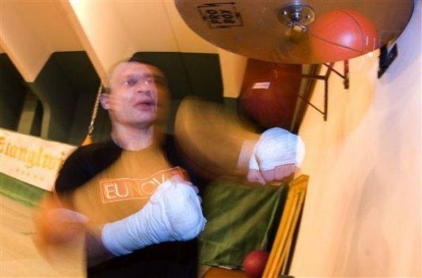 Як Віталій Кличко готується до бою з Бріггсом