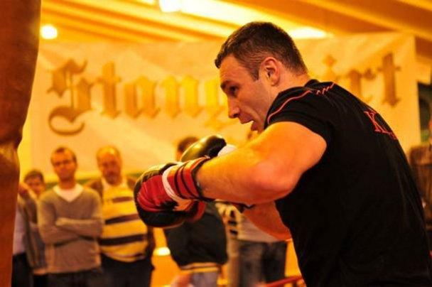 Как Виталий Кличко готовится к бою с Бриггсом