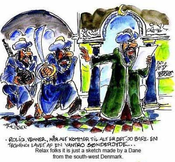 У Данії випустили книгу карикатур на пророка Мухаммеда