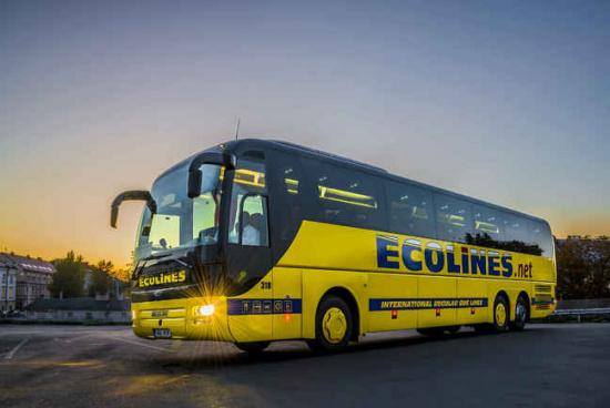 Українцям буде доступний новий автобусний рейс до Польщі від Ecolines